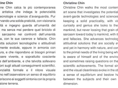 Christine Chin in Deus Ex Terra Catalog