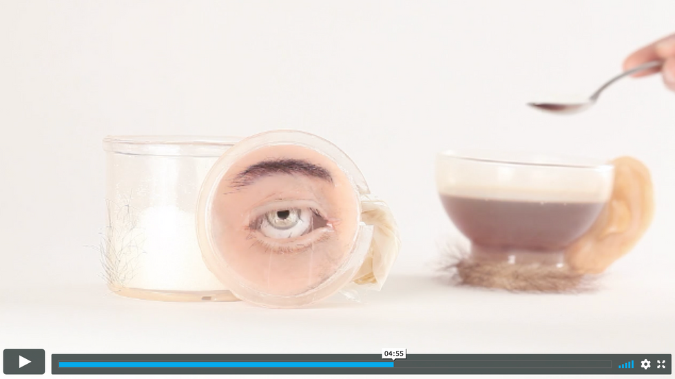 Sentient Kitchen: Sugar Pot Video