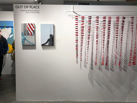 Great turnout at Out of Place at Fountain Street Gallery, Boston
