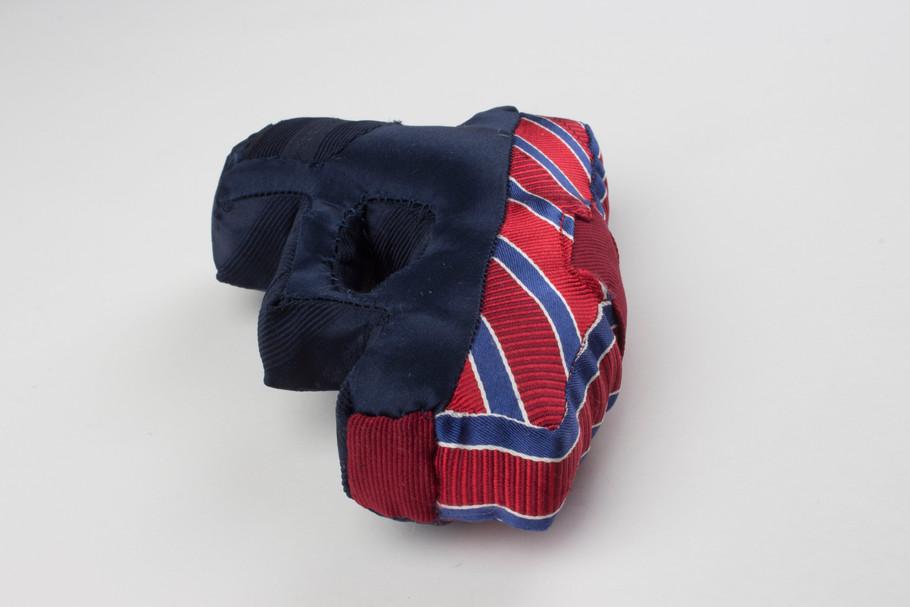 Political Ties: Glock in Silk, Jacquard and Patriotic Stripe