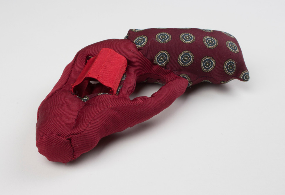Political Ties: Ruger Special in Power Red, Twill and Silk Dot