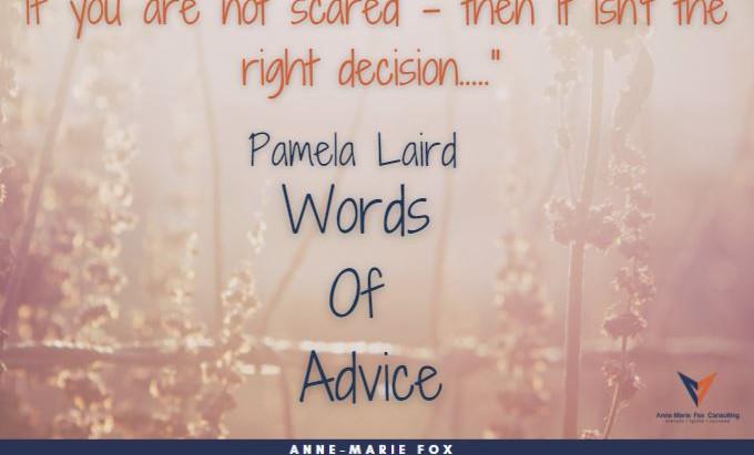 Pamela Laird - Words of Advice