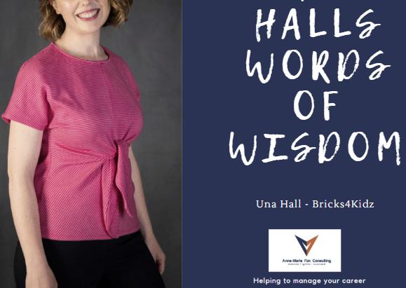 Una Hall - My Words of Wisdom