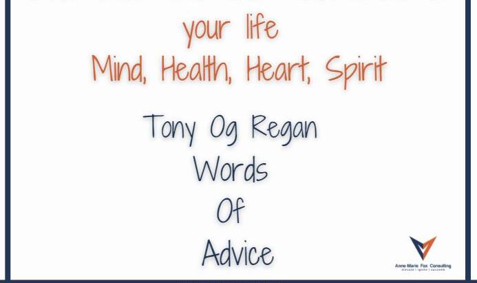 Tony Og Regan - Words of Advice