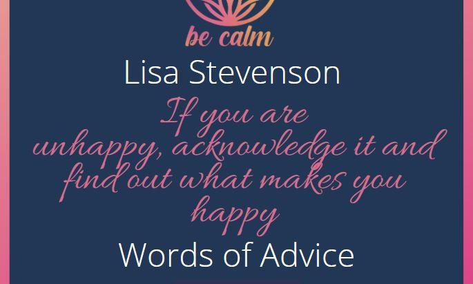 Lisa Stevenson - Words of Advice