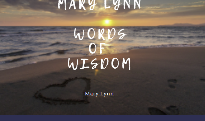 Mary Lynn - Follow up from Podcast with her recommended reading and Words of Wisdom