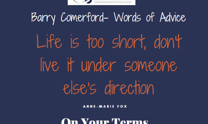 Barry Comerford- Words of Advice