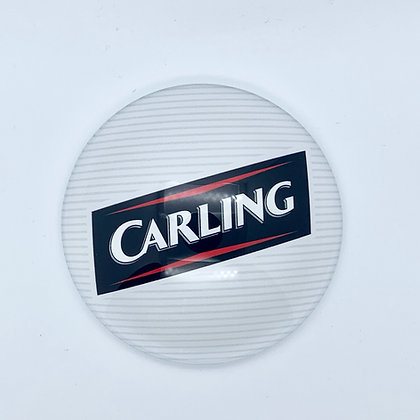Carling Round 3D Beer Badge (80mm) Price Including VAT £1