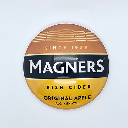Magners Fish Eye Round 3D Beer Badge (80mm) Price Including VAT £1