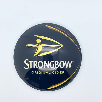 Strongbow Fish Eye Round 3D Beer Badge (80mm) Price Including VAT £12.00