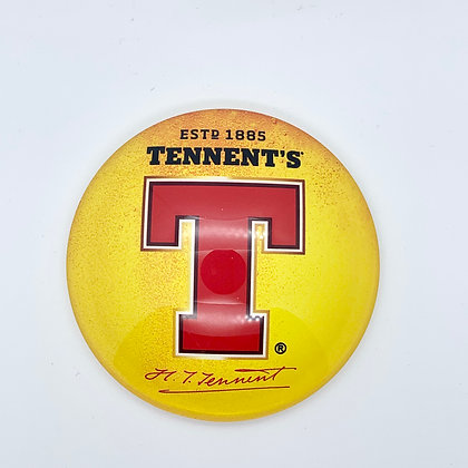 Tennents Fish Eye Round 3D Beer Badge (80mm) Price Including VAT £12.00