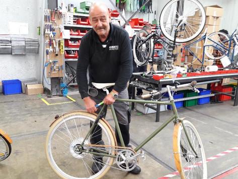 Roetz-Bikes: oude fietsen in een nieuw jasje