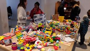 Speelgoed eruit, speelgoed erin met Recycle Sint!