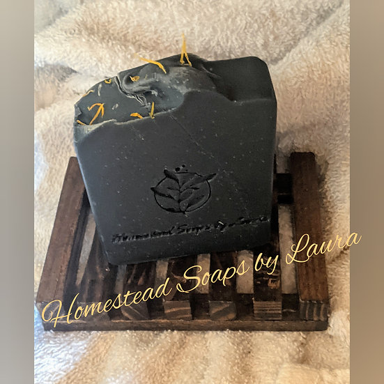 Activated Charcoal & Colloidal Oatmeal Soap