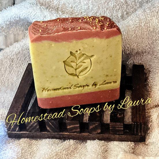 Magnolia Leaf & Tonka Shea Butter Soap