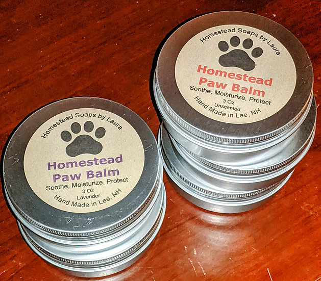 Homestead Paw Balm (Soothe, Moisturize, Protect)