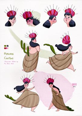Princess Cactus - Character Sheet