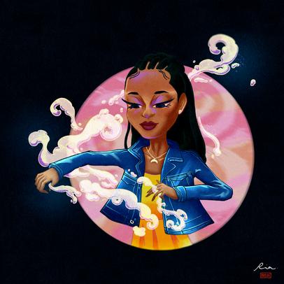 Fate: The Winx Saga Fan Art - Aisha the Water Fairy