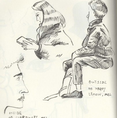 A Sketch of Melbourne