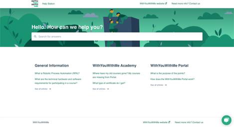 Knowledge Base Banner - Dark Mode - on Website