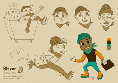 Bitzer The Dog - Fan Made Character Sheet