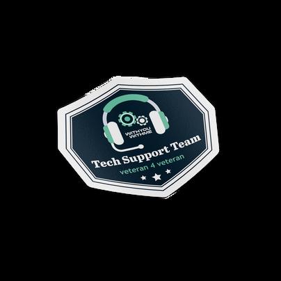 Tech Support Team Badge