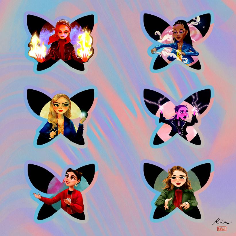 Fate: The Winx Saga Fan Art - All Fairies