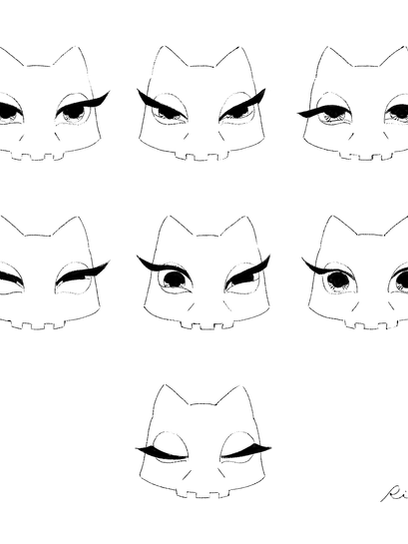 Cattuson - facial expression