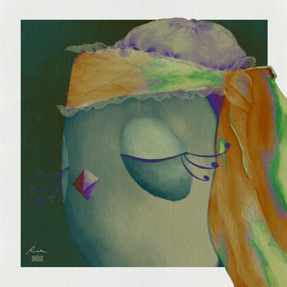 Mama Chic - Oil Portrait