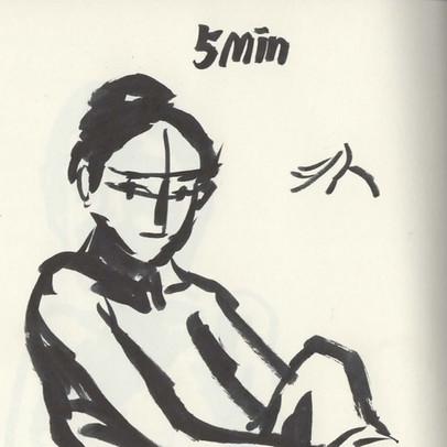 Life Drawing - 5min