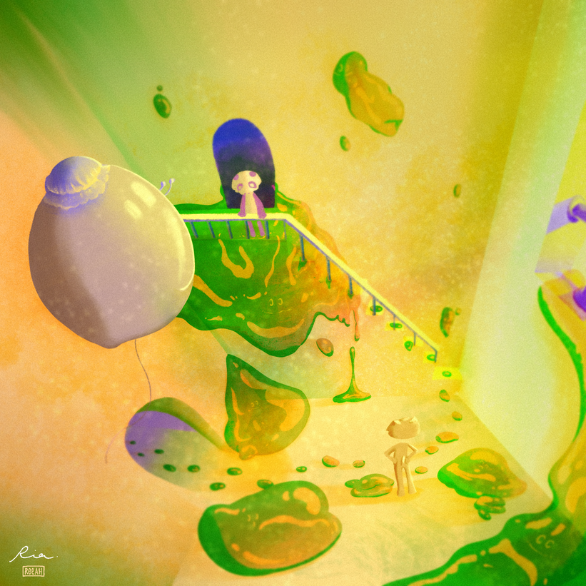 Jelly Attic - Concept Art