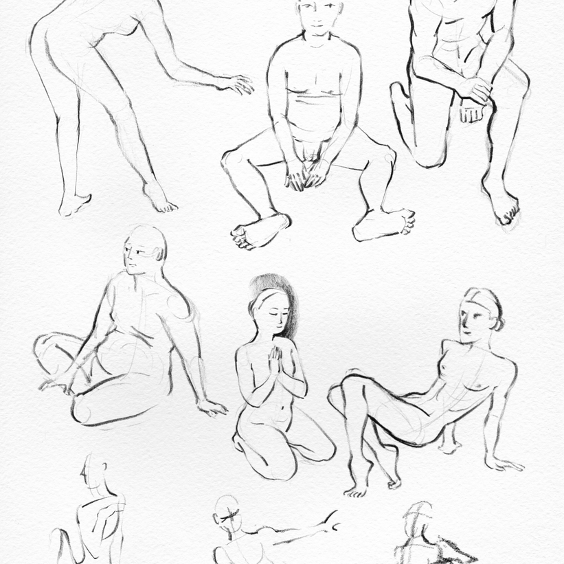 Pose Study Compilation