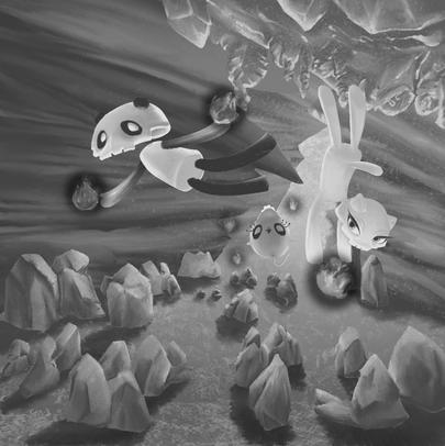 Ice Clan's Cave - Tonal Blocking
