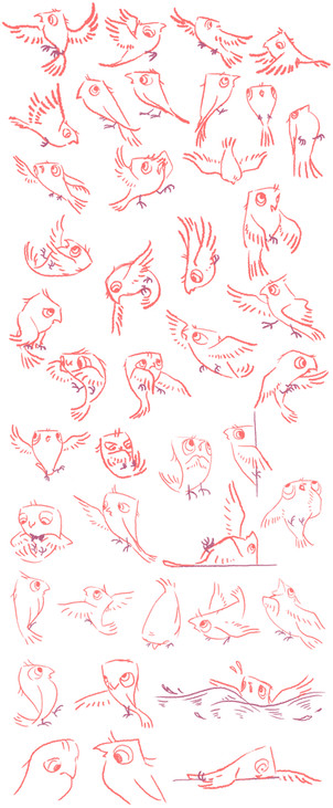 Birdie - Character Pose Iteration