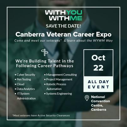 Canberra Veteran Career Expo Invite - Veterans