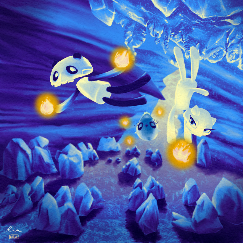 Ice Clan's Cave - Concept Art