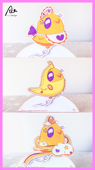 Mama Chic Fashion Paper Doll - 200-Follow Digital Goodie - IG @illuswan