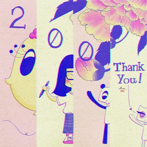 200-Follow Gratitude Art - IG @illuswan