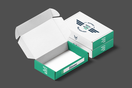 Welcome Pack Box for Partner