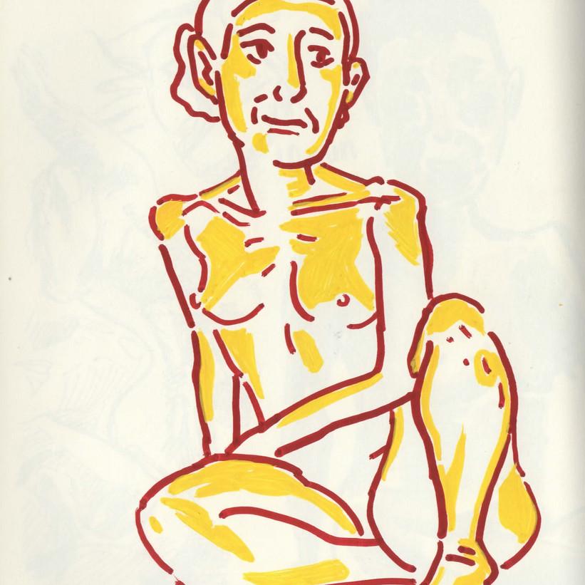 Life Drawing - 10min