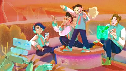 the Neit Teens on the Rooftop Garden - Environment Concept