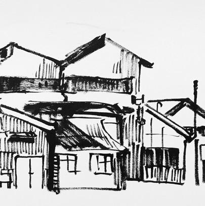 Architecture on Cockatoo Island