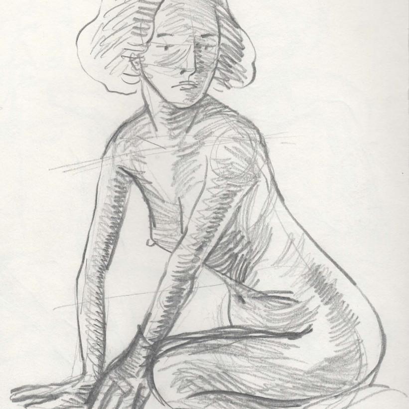 Life Drawing - 20min