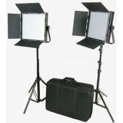 Luz profesional de video bi-colorCame TV (par)