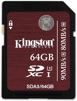 Memoria SD 64 GB u3