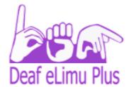 Deaf eLimu Plus Mobile App Kenya