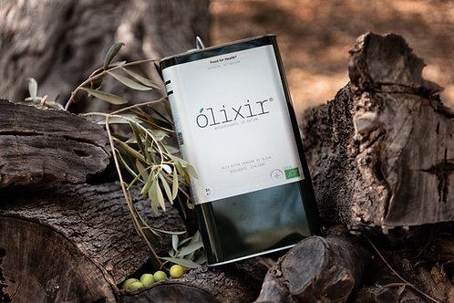 Ólixir™ | Organic Extra Virgin Olive Oil | 3L