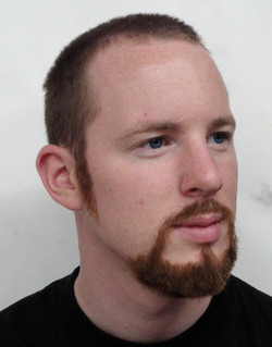 Hand-laid Facial Hair