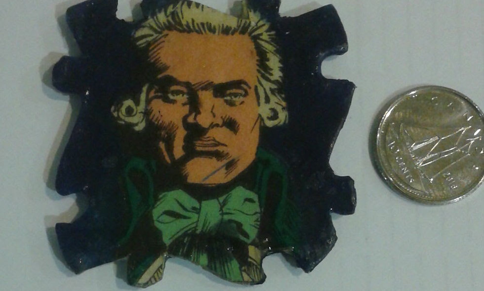 Robespierre magnet or pin