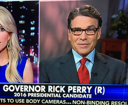 Make-up & Hair for Gov. Rick Perry